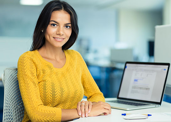 A women learning the 5 C's of Credit