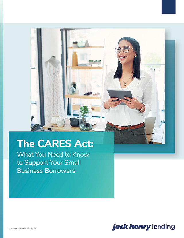 Support for your small business borrowers