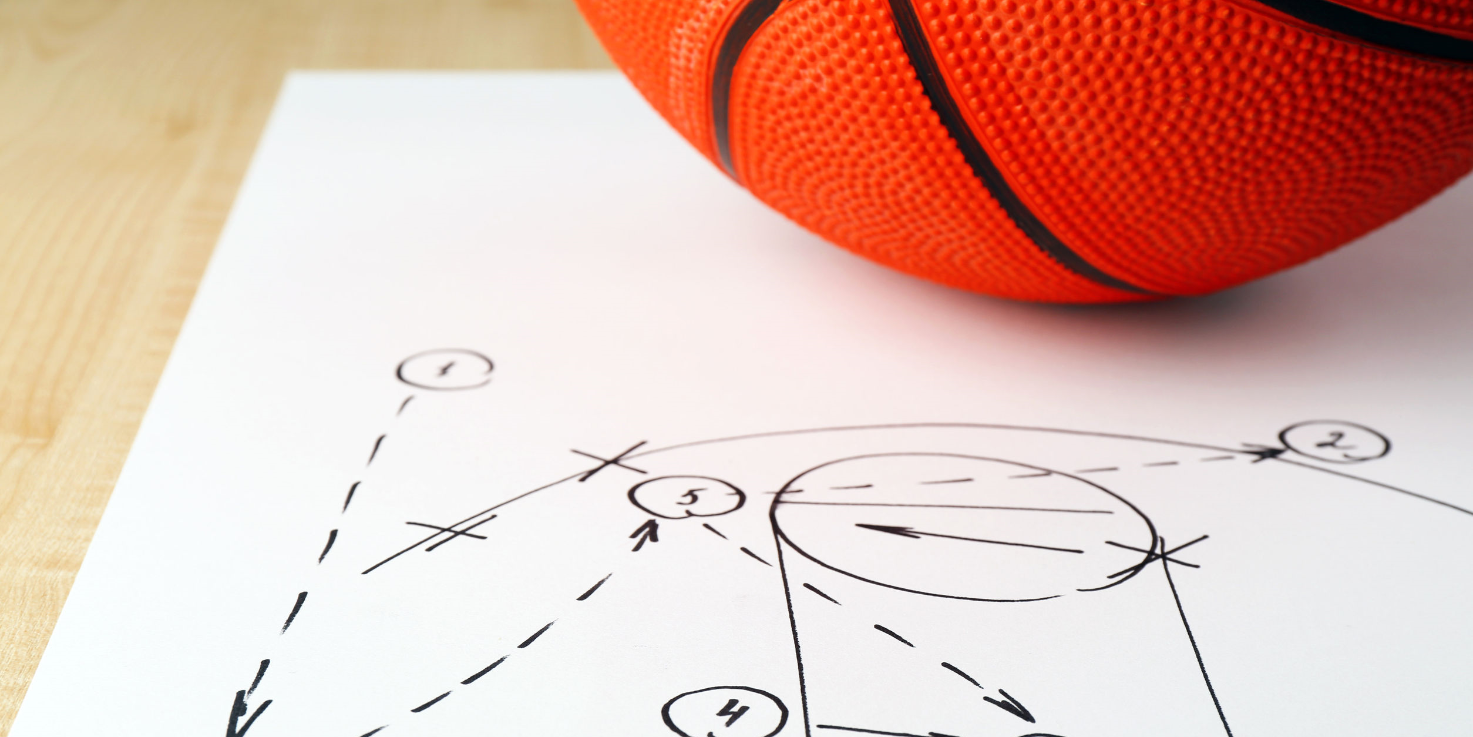 Final Four basketball image