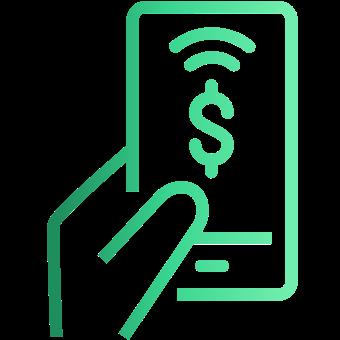 Consumer Mobile Deposit Icon